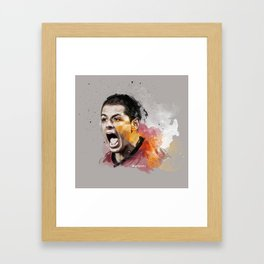 Chicarito Painting Framed Art Print