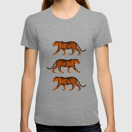 Tigers (White and Orange) T-shirt