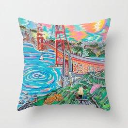 San Francisco Joe Throw Pillow