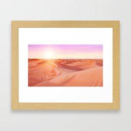 DD - Desert Dreams Framed Art Print