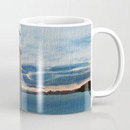 Three Swords - Stavanger Norway / Oil Painting Coffee Mug