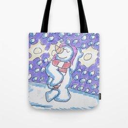 Christmas #15 Snow Model Tote Bag