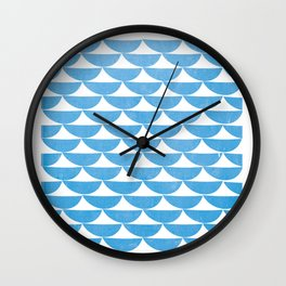 white tents Wall Clock