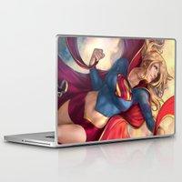 karu kara Laptop & iPad Skins featuring Kara Soars by Reza Kabir