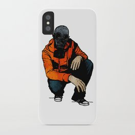 Waiting For (Inevitable) Trouble iPhone Case