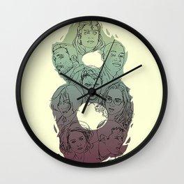 SENSE8 Logo drawing Wall Clock