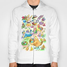 Easter egg party Hoody