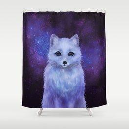 Arctic Fox (color version II.) Shower Curtain