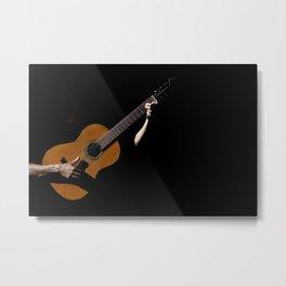 Guitarrist Metal Print
