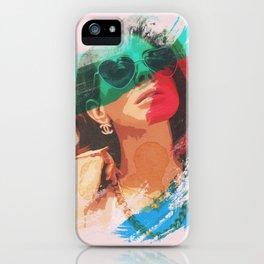 Lana Mix Colors iPhone Case