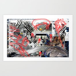 CrashED Art Print