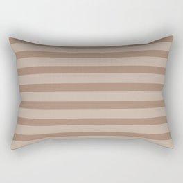 Beige Basics Stripe Rectangular Pillow