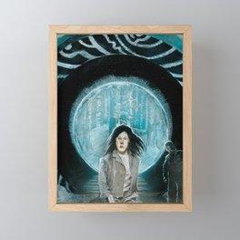 Time Traveler Framed Mini Art Print