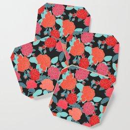 Rose Garden - Dark Coaster