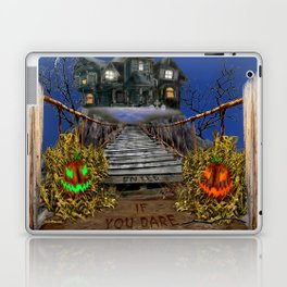 Enter If You Dare Laptop & iPad Skin