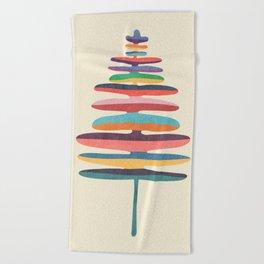 Joy Fern Beach Towel