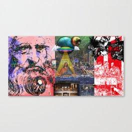 The Rebirth of DaVinci Canvas Print