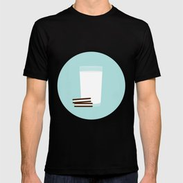 #25 Milk and Cookies T-shirt