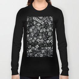 Black dice Long Sleeve T-shirt