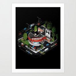 J_ob Art Print