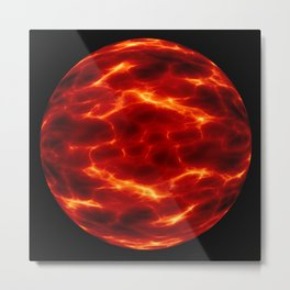 space alien planet Metal Print