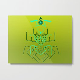 Astral Beettle Metal Print
