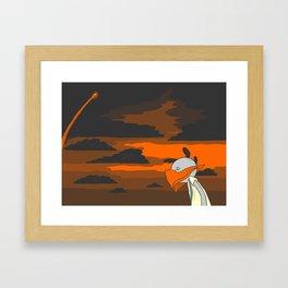 No Stars Framed Art Print