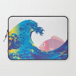 Hokusai Rainbow & Jpanese Snapper  Laptop Sleeve