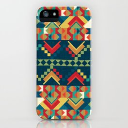 Indi-abstract#12 iPhone Case