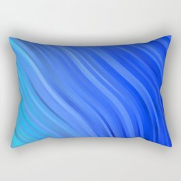 stripes wave pattern 1 c80v Rectangular Pillow