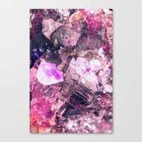gem Canvas Prints featuring Gem by Simona Sacchi