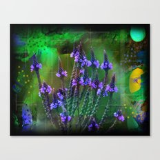 Flowers In A World Of Colors  Canvas Print