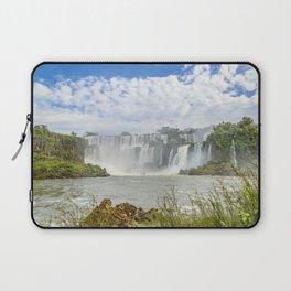Waterfalls Landscape at Iguazu Park Laptop Sleeve