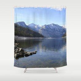 Como Lake Shower Curtain