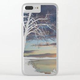 Lake Quinault Sunset, Washington Clear iPhone Case