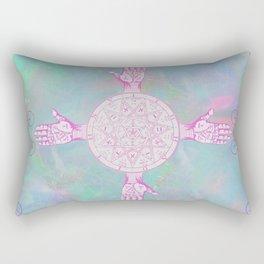 Opal Palms Rectangular Pillow