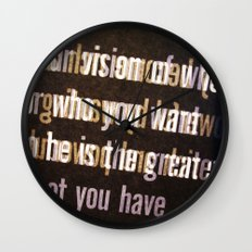 Get it Wall Clock