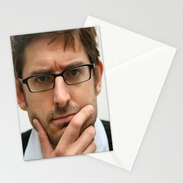 Louis Theroux, from the BBC 2019 Stationery Cards