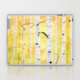 Autumn Birch Laptop & iPad Skin