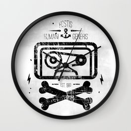 Pirate Tape Wall Clock