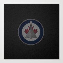 WinnipegJets Logo Canvas Print