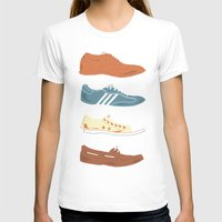 shoes T-shirts featuring Shoes by Things and Other Things