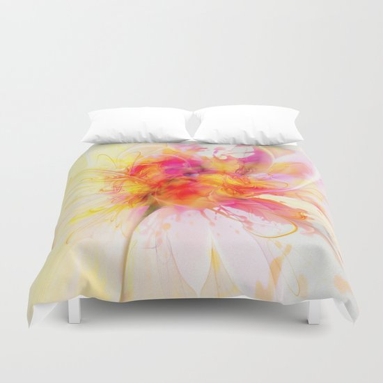 The Birth of a Rose Duvet Cover