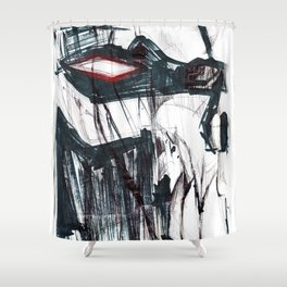 Futuristic Cyborg 3 Shower Curtain
