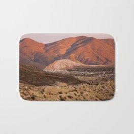 The Pinkest Sunset (Red Rock State Park, California) Bath Mat