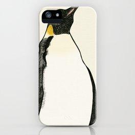 Emperor Penguin iPhone Case