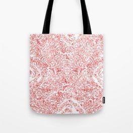 Red butterflies Tote Bag