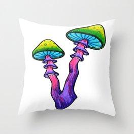 Shroomy Throw Pillow
