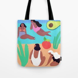 Fruity Beach Tote Bag