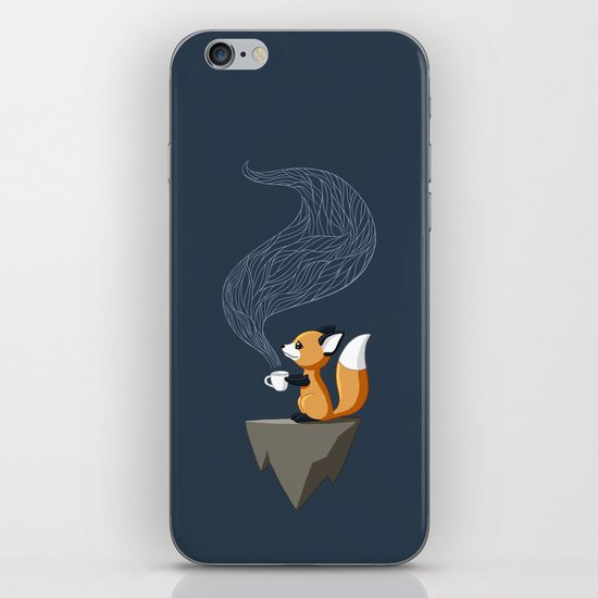 Fox Tea iPhone & iPod Skin